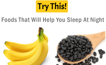 Insomnia: Foods That Will Help You Sleep At Night