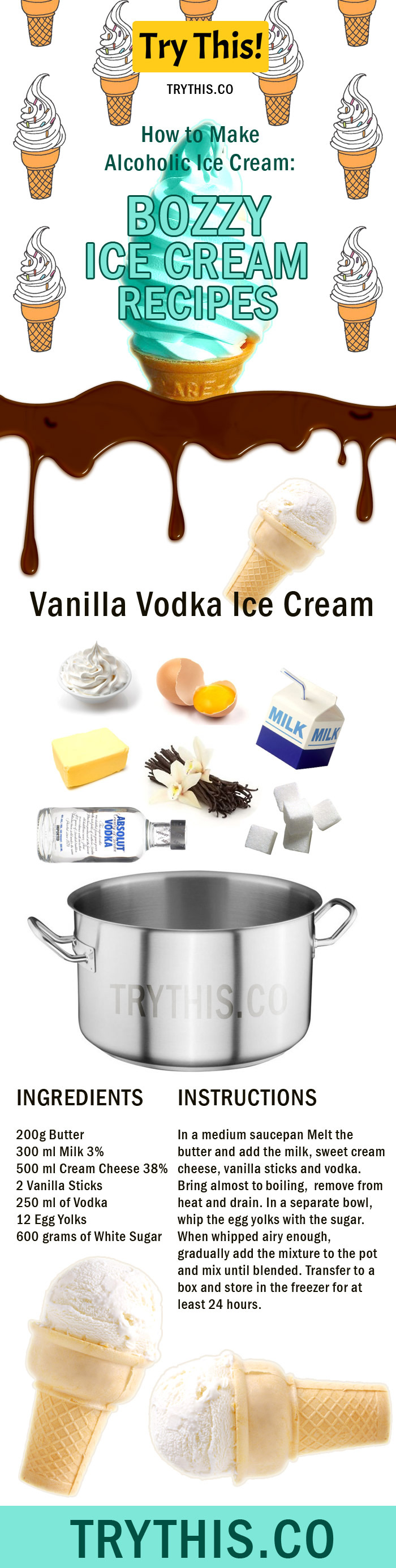 Whipped Cream Vodka Food Recipes
