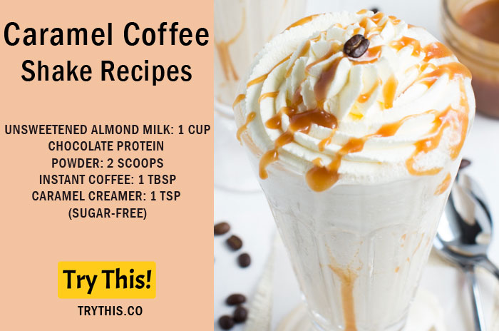 Caramel Coffee Shake Recipe
