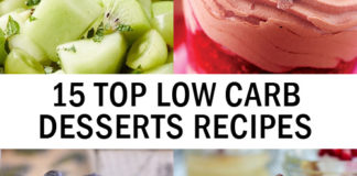 15 Top Low Carb Desserts Recipes