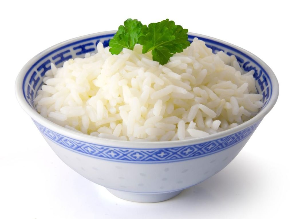 Rice as a gluten free food