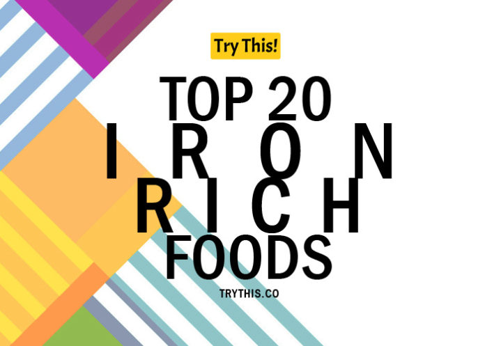 Top 20 Iron Rich Foods