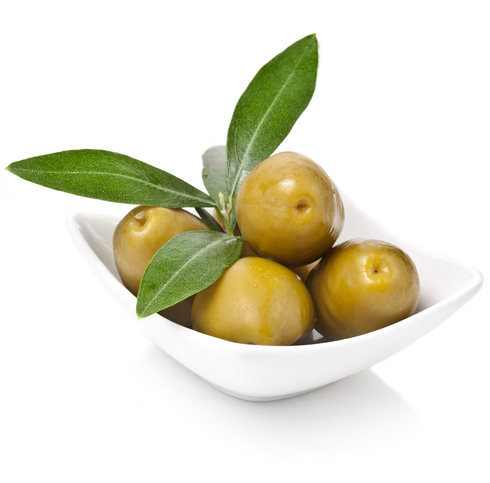 Brine-Cured Olives
