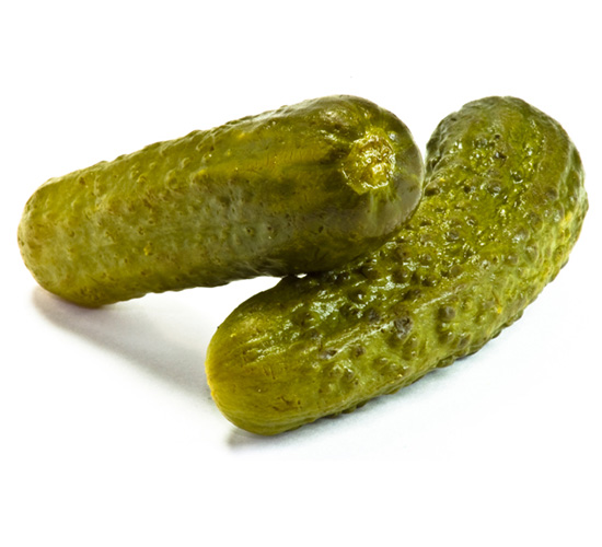 Salted Gherkin Pickles