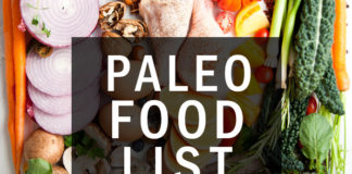 The Best Paleo Diet Food List