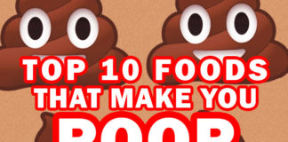 What Causes Constipation? Top 10 Foods that Make You Poop