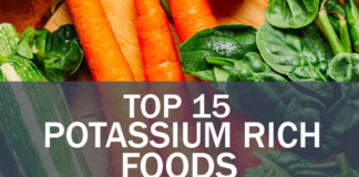 Top 15 Potassium Rich Foods