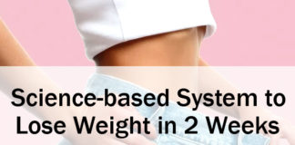Science-based System to Lose Weight in 2 Weeks