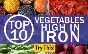 Top 10 Vegetables High in Iron
