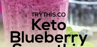Keto Blueberry Smoothie