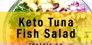 Keto Tuna Fish Salad