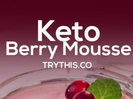Keto Berry Mousse